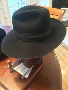 c3dd8140a84 these black fedoras are not uncommon in traditional Orthodox communities or  among a group of Hasidim called Chabad Lubavitch. Hero Wardrobe · Men s Hats