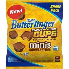 $1.00 Off 1 NESTLE BUTTERFINGER Peanut Butter Cups Printable Coupon Plus Walmart Matchup!