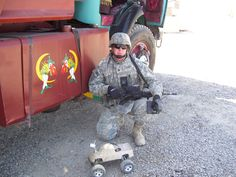 """""""Remote-controlled lifesavers"""" via Soldiers Live: Soldiers are amazed by the success of a remotely controlled device and its proven ability to save lives. Army Tech, Toy Wagon, West Fargo, Little Red Wagon, Remote Control Toys, Toy Trucks, D Day, Save Life"""