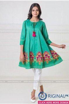 Khaadi Luxury Pret 2017 Whatsapp: 00923452355358 Website: www. Pakistani Bridal Wear, Pakistani Dress Design, Pakistani Outfits, Beautiful Pakistani Dresses, Short Frocks, Kurti Styles, Girl Fashion, Fashion Outfits, Pakistan Fashion