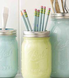 DIY Spring Mason Jar