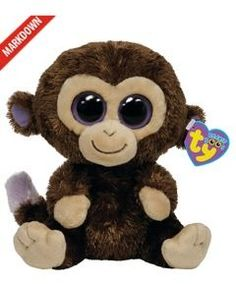 TY Beanie Boo's Coconut The Monkey I've also got the pink one with a cookie heart
