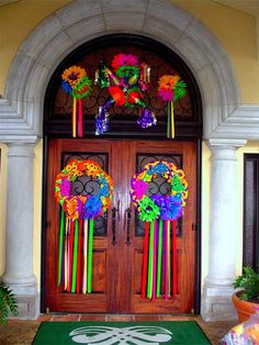 fiesta decor for front door - Fiesta Decorations