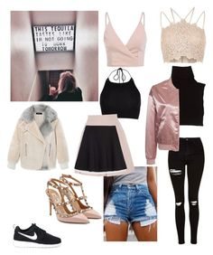 """""""Tequila night"""" by romina-francisca on Polyvore featuring River Island, Marc Jacobs, TIBI, Topshop, NLY Trend, Alexander McQueen, Zara, NIKE and Valentino"""