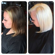 Before And After Using Wella Blondor Hair Bleaching Powder