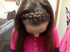 French braided headband - I need to learn how to braid!