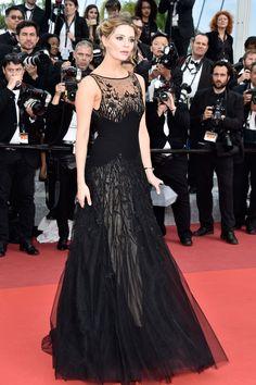 Mischa Barton vestiu Georges Hobeika no Festival de Cannes 2016.