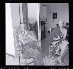 Marcel Duchamp and Alexina Duchamp, 1958 by Man Ray Man Ray, Family Album, Ph, Artists, Atelier, Artist