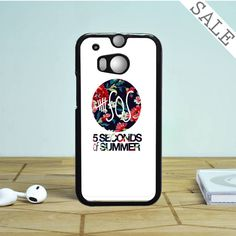 5 second of summer floral HTC One M8 | M9 Case