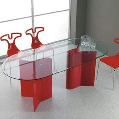Glass Furniture, Modern, Table, Home Decor, Pegasus, Dining Room Colors, Monochrome, Brown, Glass Dining Room Table