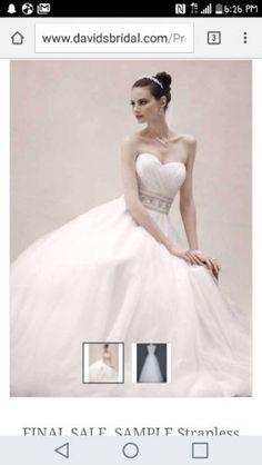 Brand New Wedding Dress Size 6
