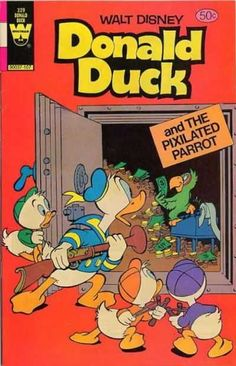 Donald Duck #229 - The Pixilated Parrot (Issue)