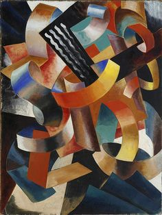 Vladimir. B. Rossine | Abstract Composition