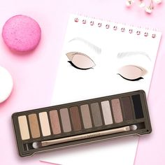 Now available at ICI PARIS XL! Eye make-up, Urban Decay Naked2. This  eyeshadow palette is such a beauty 6b33ef0b3cf9