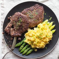 Steak and eggs, Marinated steak and Steaks on Pinterest