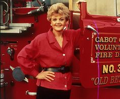 Angela Lansbury as Jessica Fletcher in 'Murder She Wrote'