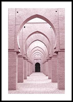 Pink Arches Poster in the group Poster / Sizes and Formats / at Des . - Pink Arches Poster in the group Poster / Sizes and Formats / at Desenio AB - Islamic Posters, Islamic Art, Decoraciones Ramadan, Gold Poster, Groups Poster, Poster Sizes, Bike Poster, Poster City, Blue Heron