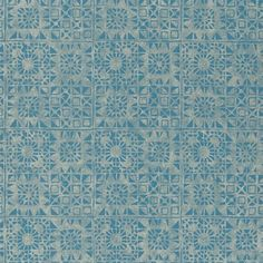 serego - turquoise wallpaper | Designers Guild