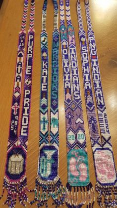 My First Wampum Necklace Creations