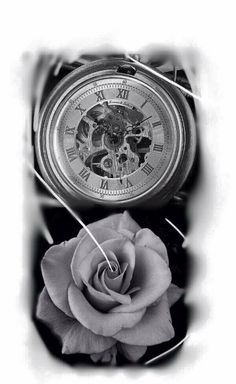 Tattoo clock, tatuagem de relogio
