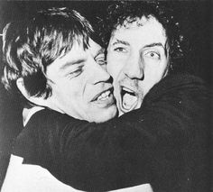 Mick Jagger and Pete Townsend - New-York