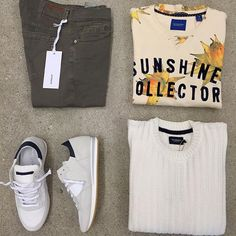 Spring inspo for man sun_with_face #Dondup #scotchandsoda #philippemodel #holebrook
