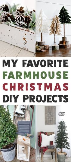My Favorite Farmhouse Christmas DIY Projects - The Cottage Market Farmhouse Christmas Decor, Country Christmas, Winter Christmas, All Things Christmas, Christmas Home, Christmas Drama, Merry Christmas, Christmas Mantles, Christmas Villages