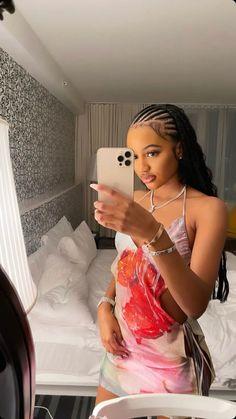 Black Girl Braided Hairstyles, Black Girl Braids, African Braids Hairstyles, Braids For Black Hair, Girls Braids, Black Women Hairstyles, Weave Hairstyles, Pretty Hairstyles, Curly Hair Styles