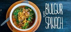 Булгур со спанаќ / Spinach with bulgur