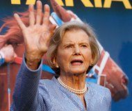 """Penny Chenery at the premiere of the movie """"Secretariat"""" in 2010."""