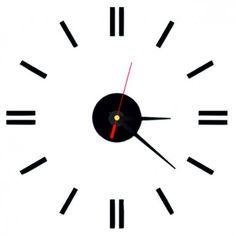 3d Wall Clock, Stencil, Home Decor, Room Decor, Home Interior Design, Home Decoration, Interior Decorating, Home Improvement