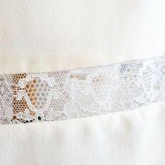 Billy - Robe de mariée courte, soie et dentelle