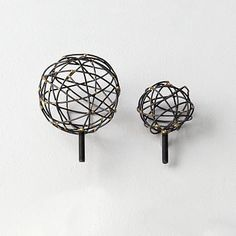 Tangle Finials #westelm - no longer available