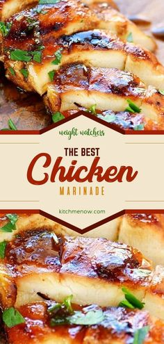 The Best Chicken Marinade This delicious Grill Recipes is a hunger keeper! Chicken Marinade Recipes, Healthy Chicken Recipes, Grilling Recipes, Healthy Snacks, Healthy Marinade For Chicken, Seasoning For Chicken, Marinades For Chicken, Healthy Eating, Ww Recipes