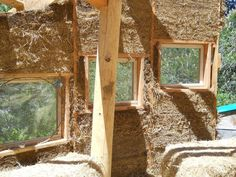 Building a Cob House.  This would be a great method to test on a small outbuilding first.