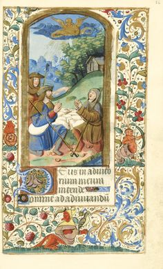 BOOK OF HOURS, use of Paris, illuminated manuscript on vellum [ Northern France (Paris), c.1520-30]