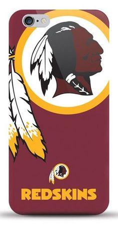 NFL Washington Redskins TPU Licensed Oversized Logo Case for iPhone 6 Plus / 6s Plus - (A Grade)