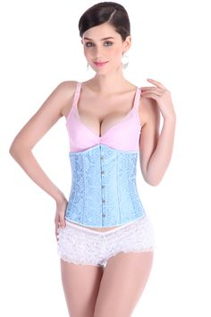 NEW light blue flower boned wedding underbust Sexy Waist Workout Cincher Body Shaper Shapewear Corset 2833L for Women girl     Tag a friend who would love this!     FREE Shipping Worldwide     Get it here ---> http://oneclickmarket.co.uk/products/new-light-blue-flower-boned-wedding-underbust-sexy-waist-workout-cincher-body-shaper-shapewear-corset-2833l-for-women-girl/
