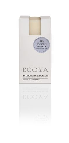 ECOYA Soy Wax Melts - Coconut & Elderflower  http://www.ecoya.com/