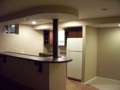 Basement Finish Job in O'Fallon, MO  like to have a small kitchen in a finished basement