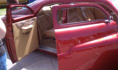 1936 cadillac 4 door 60 series touring sedan front seat and side shields and front carpet with. Black Bedroom Furniture Sets. Home Design Ideas