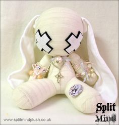 White Bunny by SplitxMindxPlush.deviantart.com on @DeviantArt