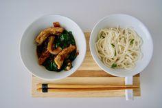 Porc sauté au gingembre Wok, Menu, Spaghetti, Ethnic Recipes, Noodles, Menu Board Design