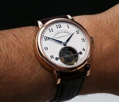 A. Lange & Sohne 1815 Tourbillon Watch Hands On   hands on