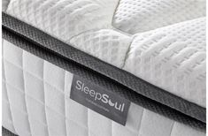 Brand new to Birlea the SleepSoul Bliss mattress features a sumptuously soft pillow-top layer of plush fillings for extra comfort and cushioning. Pillow Top Mattress, Best Mattress, Soft Pillows, Bed Pillows, Bed In Living Room, King Size, Memory Foam, Bliss, How To Find Out