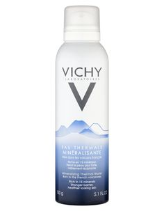 Vichy Mineralizing Thermal Water Spray 150ml Vichys Mineralizing Thermal Water is enriched in 15 minerals. With 13 scientific studies and proofs behind it Vichys Mineralizing Thermal Water has been clinically proven to strengthen the skins barri http://www.MightGet.com/january-2017-11/vichy-mineralizing-thermal-water-spray-150ml.asp