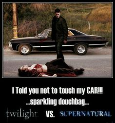 Because I know Dean Winchester is out there, I sleep better at night.