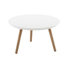 DIVA Sohvapöytä, valko/tammi | Isku