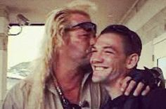 """Father and son...Leland and Duane """"Dog"""" Chapman"""