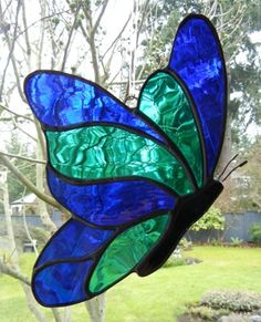 Stained Glass Butterfly Suncatchers | Shattered by Light